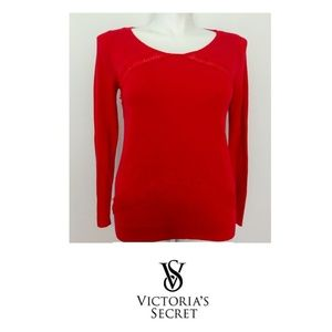 Victoria's Secret Red Sweater Size Large